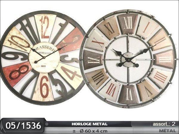 HORLOGE METAL 60 CM