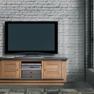 MAGELLAN MEUBLE TV 1 PORTE 1 TIROIR 1 NICHE
