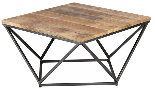 TABLE BASSE CARRÉ RÉF:1867