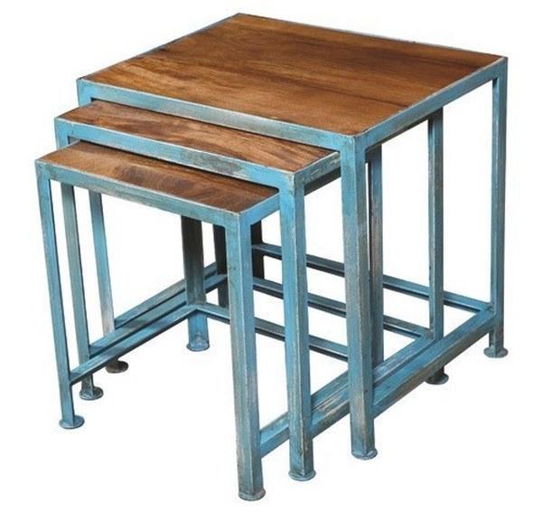 LOT DE 3 TABLES GIGOGNE RÉF:1803