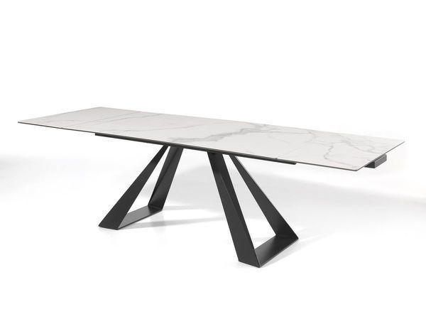 TABLE AVEC ALLONGE ESCAPE A CERAMIQUE