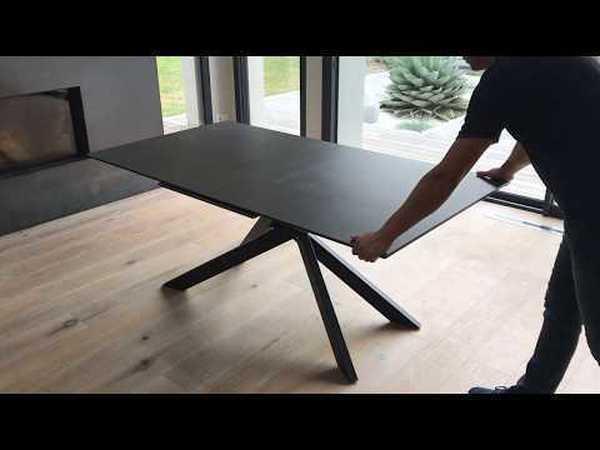 TABLE CÉRAMIQUE 1 ALLONGE