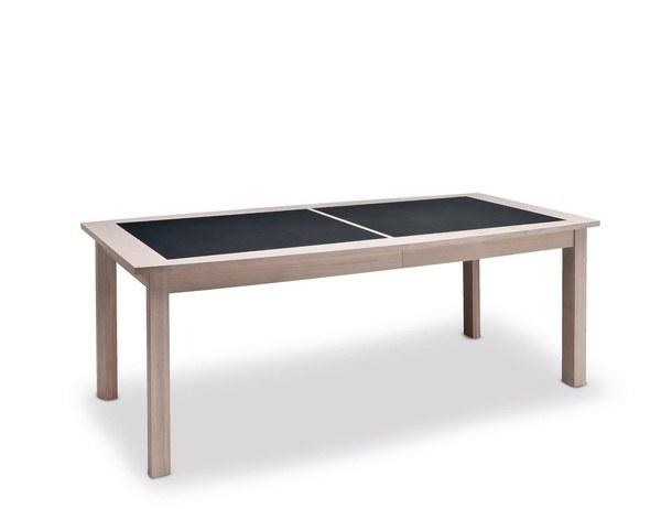 BELEM TABLE QUATRE PIEDS PLATEAU CÉRAMIQUES