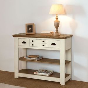 TABLE OVALE WHITNEY ROMANCE 190 X 110