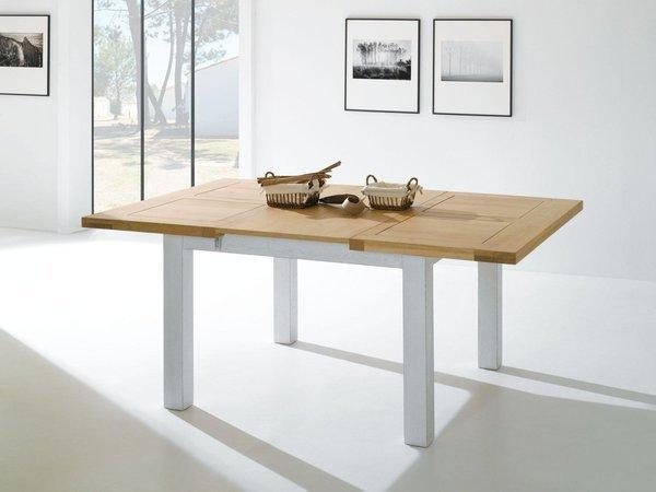 TABLE CARRÉE WHITNEY ROMANCE 125 X 125