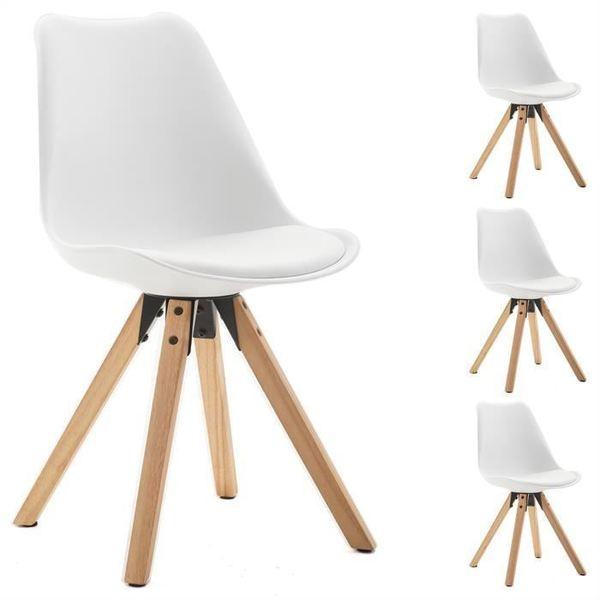 Chaise TYSON blanche