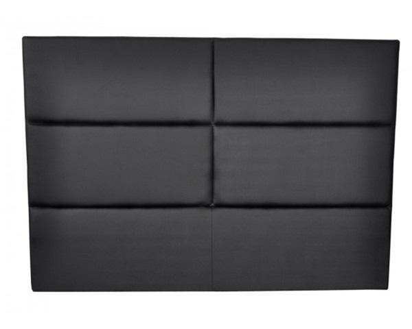 -50% tete de lit HOTEL pu noir